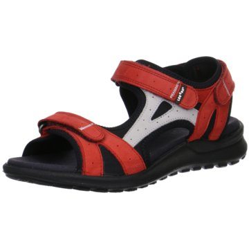 Legero Komfort Sandale rot