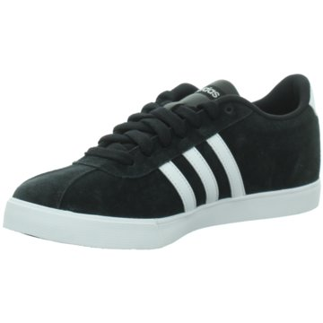 adidas Sneaker LowCOURTSET - B44619 schwarz