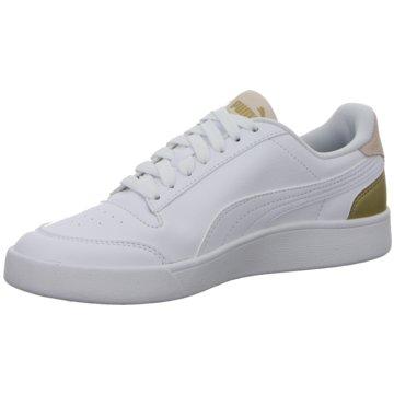 Puma Sneaker Low SHUFFLE - 309668 weiß