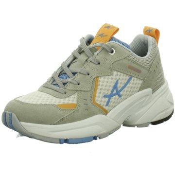 Allrounder Sportlicher SchnürschuhSneaker beige