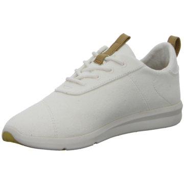 TOMS Sneaker LowCabrillo weiß