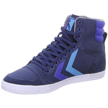 Hummel Sneaker High blau