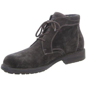 Waldläufer Komfort Stiefel grau