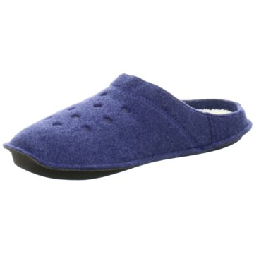 Crocs Hausschuh blau