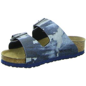 Birkenstock PantoletteArizona schmal blau