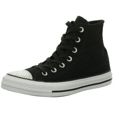 CONVERSE Sneaker HighChuck Taylor All Star Metallic Toecap high Damen Sneaker schwarz silber schwarz