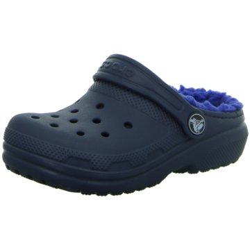 Crocs PantoletteClscLinedClogK blau