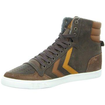 Hummel Sneaker High braun