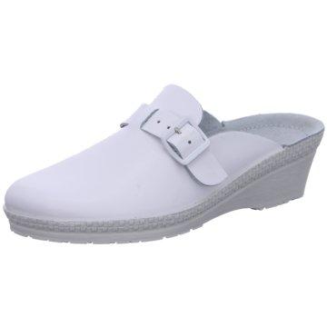 Rohde Komfort PantoletteNATURANA50 weiß