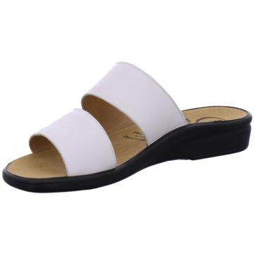 Ganter Komfort Pantolette weiß