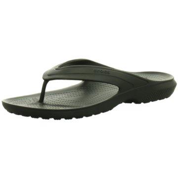 Crocs Bade-Zehentrenner schwarz