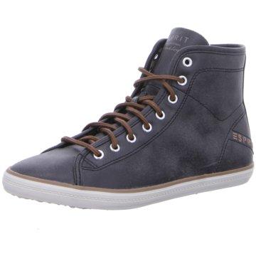 ESPRIT Sneaker High schwarz