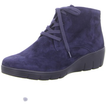 SEMLER Komfort Stiefelette blau