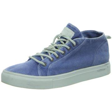 Blackstone Sneaker Low blau