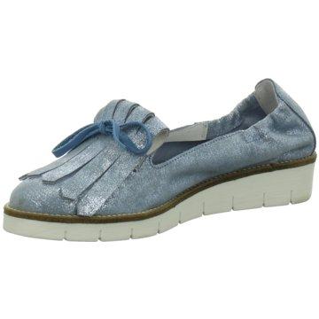 SPM Modische Slipper blau