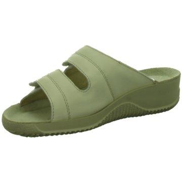 BECK Komfort PantoletteHanni grün