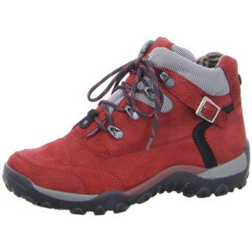 Waldläufer Komfort Stiefelette rot