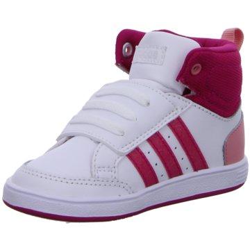 adidas Sneaker HighVLNEO HOOPS CMF MID INF weiß