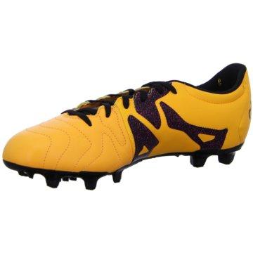 adidas Nocken-SohleX 15.3 FG Leather orange