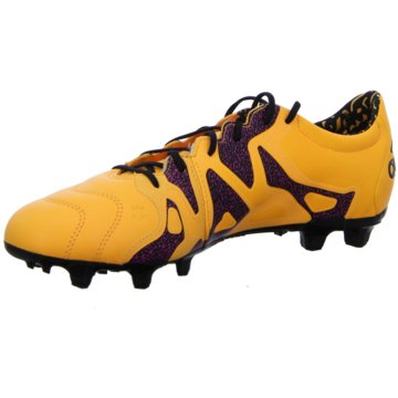 adidas Nocken-SohleX 15.2 FG Leather orange