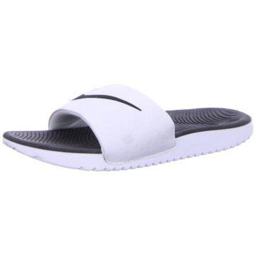 Nike WassersportschuhNike Kawa Kids' Slide - 819352-100 weiß