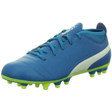 Puma Fußballschuh blau