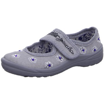 Fischer Schuhe Spangenschuh grau