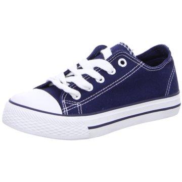 Indigo Sneaker Low blau