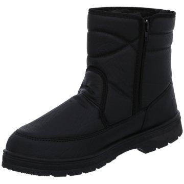Montega Komfort Stiefel schwarz