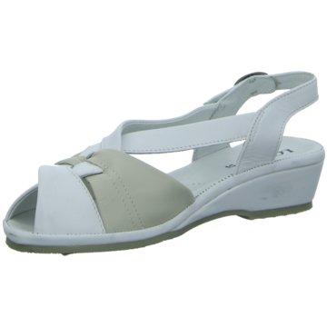 Longo Komfort Sandale weiß