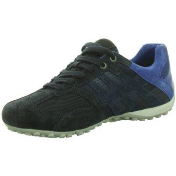 Geox Komfort Schnürschuh blau