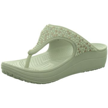 CROCS Offene SchuheCrocs Sloane Embellished Flip weiß