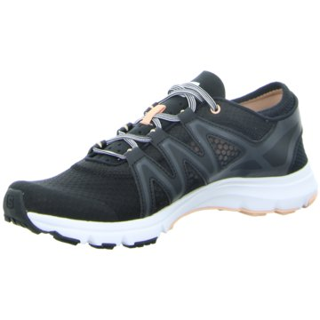 Salomon RunningCrossamphibian Swift Damen Laufschuhe Trail-Running schwarz schwarz