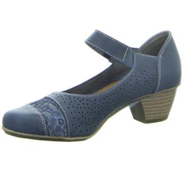 Idana Komfort Pumps blau