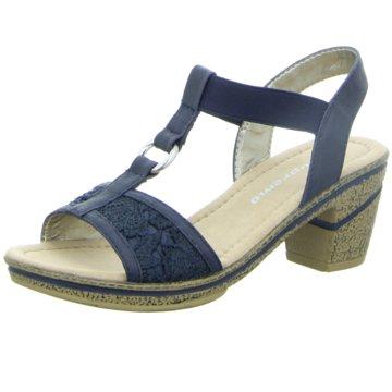Supremo Komfort Sandale blau