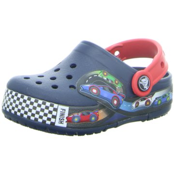 CROCS PantoletteCrocband Fun Lab Lights Clg K blau