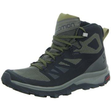 Salomon Outdoor SchuhOUTLINE MID GTX - L40476300 grau