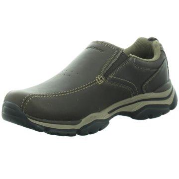 Skechers Komfort Slipper braun