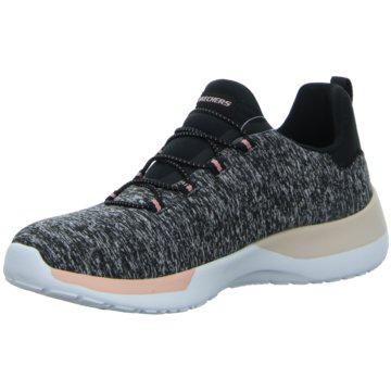 Skechers - DYNAMIGHT - BREAK-THROUGH,black/cor -