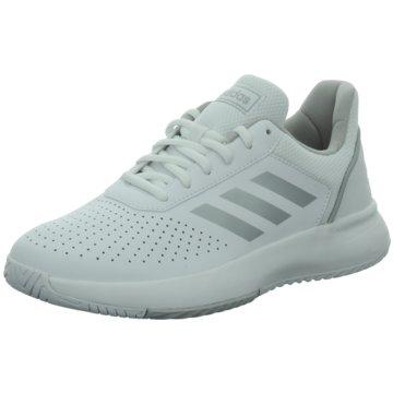 adidas Sneaker LowCOURTSMASH - F36262 weiß