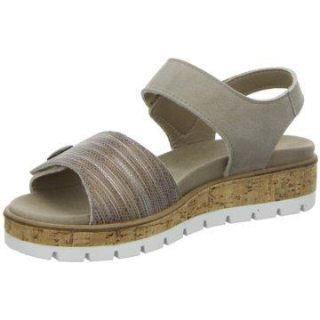 Longo Komfort Sandale beige