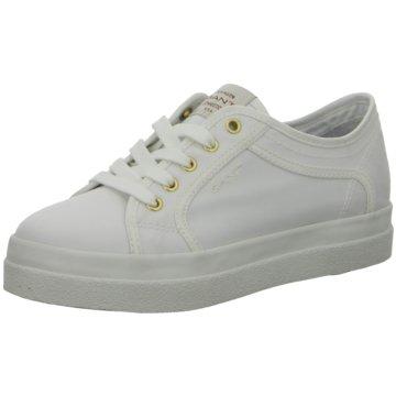 Gant Plateau SneakerAurora weiß