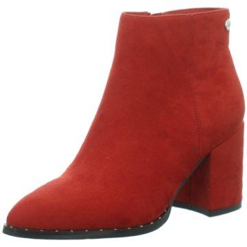 XTI Klassische Stiefelette rot