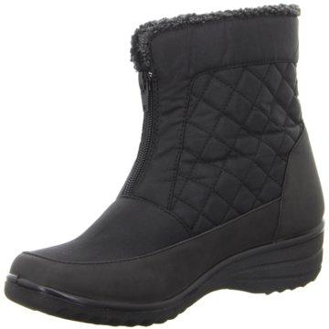 Hengst Footwear Komfort Stiefelette schwarz