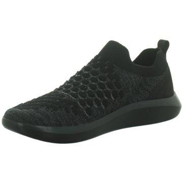 Legero Sportlicher Slipper schwarz
