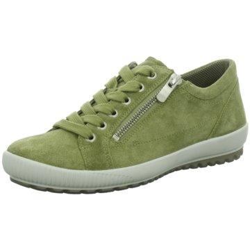 Legero Komfort Schnürschuh grün