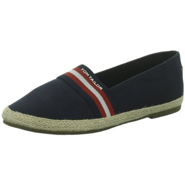 Tom Tailor Espadrille blau