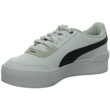Puma Sneaker LowCarina Lift weiß