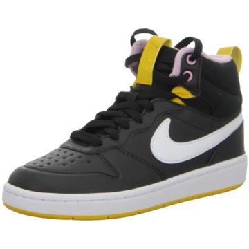 Nike Sneaker LowNike Court Borough Mid 2 Boot Big Kids' Shoe - BQ5440-003 schwarz