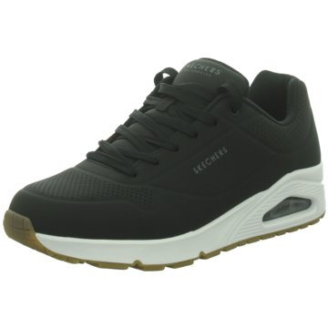 Skechers Sneaker LowUno - Stand on Air schwarz